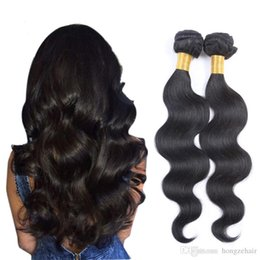 8A Brazilian Virgin Hair Weave 8-26 Double Weft Human Hair Extensions Dyeable 2pcs 100g lot Hair Weaves Body Wave Wavy Free Shipping