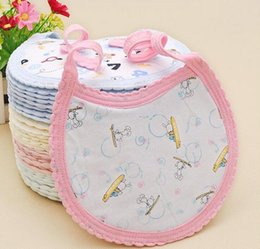 Newborn Baby Bibs Cotton infant feeding Bib & Burp Cloths
