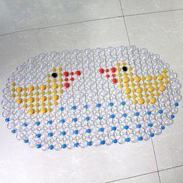 Wholesale Bathroom Pad PVC Bath Mat Shower Tub Bathing Cobblestone Floor Rug Pebble Bubble Non Slip Fashionable Practical