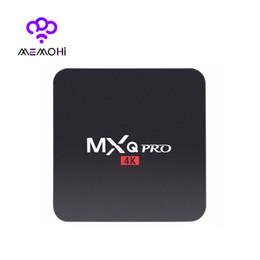 Complète android en Ligne-14PCS MXQ Pro 4K Android 5.1 TV Box Rockchip RK3229 Quad Core Support 4K x 2K H.265 Smart TV Box IPTV Media Player