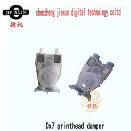 Impresoras de inyección de tinta gratis en venta-Pieza de recambio libre del amortiguador de la cabeza de impresión dx7 del envío dx7 para la impresora al aire libre del inkjet del litu del lecai del color 9100 980 del xenón para la venta