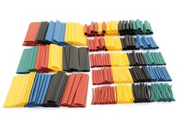 Wholesale 328pcs Polyolefin Halogen Free Heat Shrink Tube Sleeving Color Size