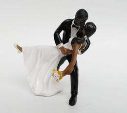 Tango kiss Couple Cake Topper Décorations de mariage Romantique Touching Story Telling Wedding Cake Décorations 2016 May Style à partir de fabricateur