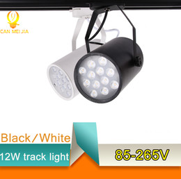 Wholesale Aluminum LED Track Light W W W Track Rail Commercial Lighting Spotlight Lamp Led Tracking for Cloth Store Shopping Indoor Home Lighting