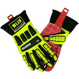 Wholesale Performance Work Gloves Pipefitters Professional Oil Patch Glove Impact Protection Abrasion Protection Touch Screen Capabilities with Ligh