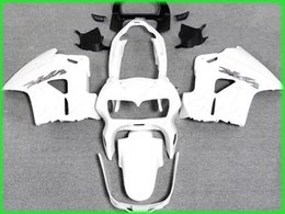 Wholesale Free ship all white Fairing kit for Honda VFR800RR interceptor VFR800 VFR