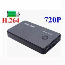 Motion Detection HD 720P Hidden Camera H.264 Digital Video Recorder Power Bank Camera Portable Mobile Power Mini DVR