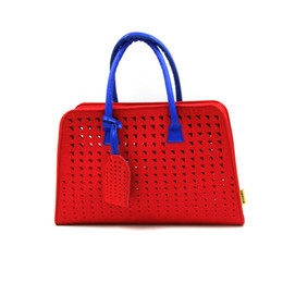 Women's Handbag felt Tote Shoulder Bag Large Capacity Weave Messenger Bags Fashion Designer Free Shipping