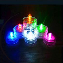 2016 flotteurs électroniques Bougies flottantes romantiques Lumières d'aquarium LED bougies électroniques lumières lumières de plongée Banquet bar bougies étanches pour la lumière flotteurs électroniques sur la vente