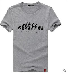 Wholesale New Men s short sleeve t shirts Fashion Couple T Shirt men s tee BIG BANG THEORY Schrodinger s cat O neck t shirts T26