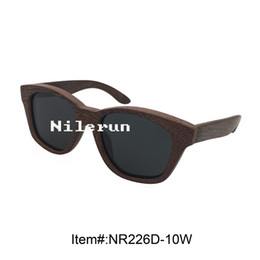 men's huge black wenge wood sunglasses