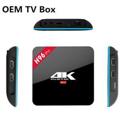Wholesale OEM ODM Service TV Box China Factory Cheap Android TV Box H96 Pro Better Than TX3 Pro TX5 Pro X96 TV Box