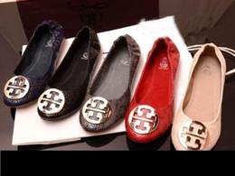 Assiettes en porcelaine pour en Ligne-Nouveau chaussures plates de mode pour femmes femmes de ballet super confortable femmes chaussure plate chaussure de porcelaine