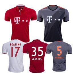 Wholesale top best Robben soccer Jersey FCB jerseys soccer Lahm lewandowski Muller jersey arturo vidal Bundesliga jersey football shirts