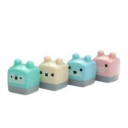 Niños mini lápiz en Línea-Venta al por mayor - 1 PC Mini lindo Kawaii pequeño caramelo Colored Standard School Supplies Sacapuntas para niños Artículos de papelería Artículos Herramientas