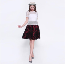 Womens Elegant 2 pc Dress Lace Stitching Printing Daily Leisure Dating Bodycon Party Home A Line Dress