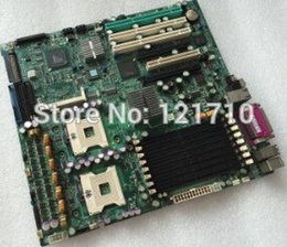 Wholesale Industrial equipment workstation board SUPER X6DA8 G2 REV with dual xeon socket and scsi pin raid interface