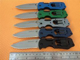 Wholesale Kershaw Select Fire Multi Function Folding Knife quot Bead Blast Plain Blade GRN Handles