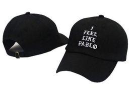 I Feel Like Pablo Hats Baseball Caps 2017 New Snapback Hats Hip Hop Fashion Sports Cap