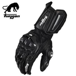 Wholesale Super affordable Furygan afs10 motorcycle Riding gloves road racing gloves cycling glove leather gloves color Size M L XL