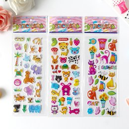 Wholesale Cartoon D stereoscopic Sticker Child Bedroom Wall decorate Varied style Mixed Stickers