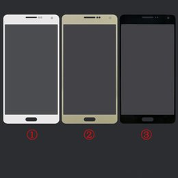 Wholesale Front Glass Lens Outer Glass Cover For For Samsung Galaxy S6 A3 A5 A7 Replacement Part DHL EMS