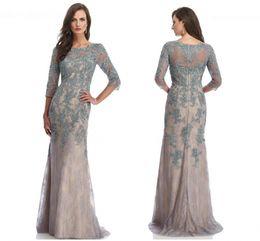 Wholesale 2017 Luxury Lnexpensive Elegant Wedding Dress Mother Noble short sleeve Floor length Wedding dress Momen Appilques HY1109