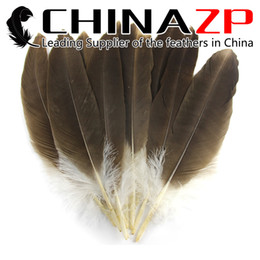 Wholesale Hand Select CHINAZP cm inch inch Excellent Quality Unique Beautiful Natural Eagle Feather for Crafts