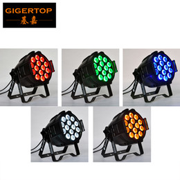Wholesale TIPTOP LED MENELAUS RGBWA Aluminum Stage Par Cans Black Painting OEM Service Logo Painting Free x12W IN1 Tyanshine RGBWA