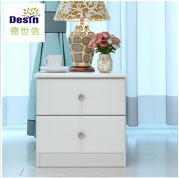 Wholesale waterproof fireproof oak wooden home furniture hot sale fashion customized size optional color durable bedroom nightstands