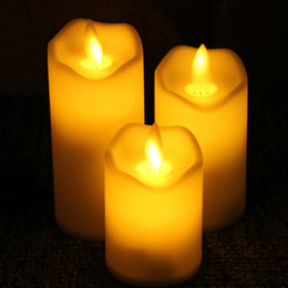 DHL free shipping LED light Candles Light Battery Operated Electric candle Wedding Birthday Party Christmas Decoration