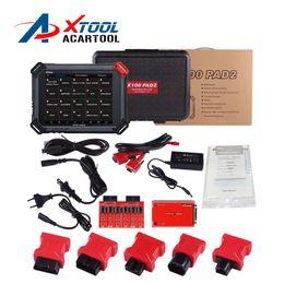 Wholesale XTOOL Original X100 Pad2 Auto Key Programmer Supporting EPB EPS OBD2 Odometer OilRst TPMS TPS X100 PAd Better than X300 pro3