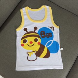 Free shipping 2017 new summer children vest can be customized boys and girls casual vest children home service 0-4 years old