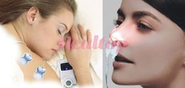 Wholesale Portable Allergy Reliever Low frequency laser Allergic Rhinitis Therapy Massager Machine Hay Fever Nasal Allergy Health Monitor and Reliever