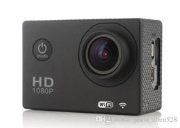 Mini grabador de vídeo resistente al agua en venta-W8 cámara de acción 4k Wifi cámara de acción 30 millones de cámaras de deportes a prueba de agua 1080p mini DV de video 30fps 12MP 2.0 LCD