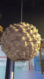 Wholesale Manufacturers selling bamboo chandelier creative personality decorative lamp