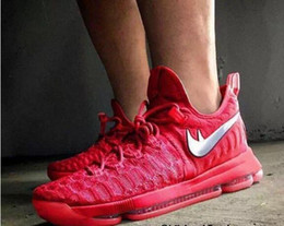 KD 9 Oreo Grey Wolf Kevin Durant 9s répliques Hommes Chaussures de basket-ball Hommes Sport Training Sneakers Warriors Accueil US Taille 7-12 à partir de kd chaussures hommes taille 12 fournisseurs