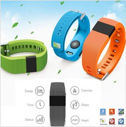 tracker d'activité de smartband Promotion Nouveau jw86 smartband comme Fitbit Charge HR Activity Wristband Sans fil cardiofréquencemètre OLED Display smart bracelet
