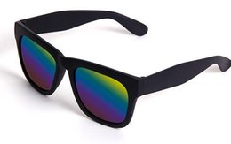 Wholesale Mirrored Lens Men Women Sunglasses Fashion men women summer beach driving outdoor sports sun glasses uv400 protection
