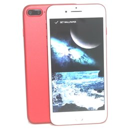 Real Fingerprint Goophone i7 Plus goophone i8 plus Quad Core MTK6580 Android 6.0 1920*1080 8MP Camera 3G WCDMA 5.5 Inch Unlocked Smartphone