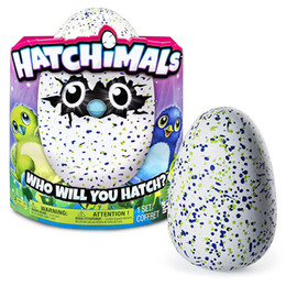 Wholesale New HOT Most Popular Hatchimals Christmas Gifts by Spin Master Hatchimals Hatching Egg Interactive Creature Draggle Penguala eggs