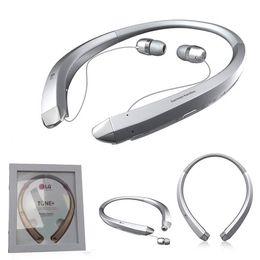 2017 New HBS 910 Wireless Bluetooth Headset CSR Chipset Genuine Luxury Sports Running Music In Ear Headphone HBS-910 Earphone for LG Tone