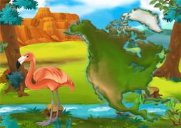 2017 fondos de verano SUSU 7x5ft Bosque Tropical Tropical Fotografía Backdrops Flamingo de fondo para la fiesta de verano Foto Video fondos de verano outlet