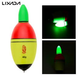 2016 flotteurs électroniques Q0205 Eclairage de nuit Pêche Flotteur EVA électronique lumière avec 2 cellules bouton Outdoor Luminous flotteur accessoire pêche Tackle promotion flotteurs électroniques