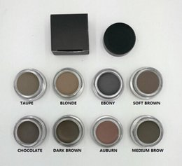 Wholesale Eyebrow cream Pomade Medium Brown Waterproof Makeup Eyebrow g Blonde Chocolate Dark Brown Ebony Auburn Medium Brown TALPE