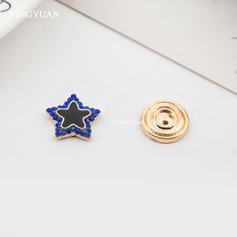 XT92 wholesale one size star elegant magnet brooches fashion magnet stronger retro broche hijab accessories