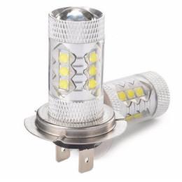H7 80W Cree LED voiture brouillard phare ampoule Auto lumières voiture voiture ampoules voiture source de lumière parking 12V 6000K xénon blanc WA2126 à partir de blanc xénon conduit h7 fournisseurs