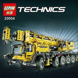 Wholesale NEW LEPIN technic series Motor power mobile crane MK Model Building blocks Bricks Compatible birthday gifts
