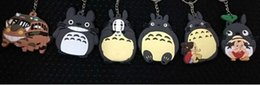 Wholesale My Neighbor Totoro Metal Keychains Key Chains Pendants DIY Jewelry yao3105