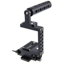 2017 aparejo de jaula CAMVATE DSLR Cámara Cage Rig Kit w / Top de la manija fr BMPCC Sony Panasonic SLR Cámaras aparejo de jaula Rebaja